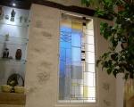 14 Art Deco Gris Ambre panneau salon.JPG